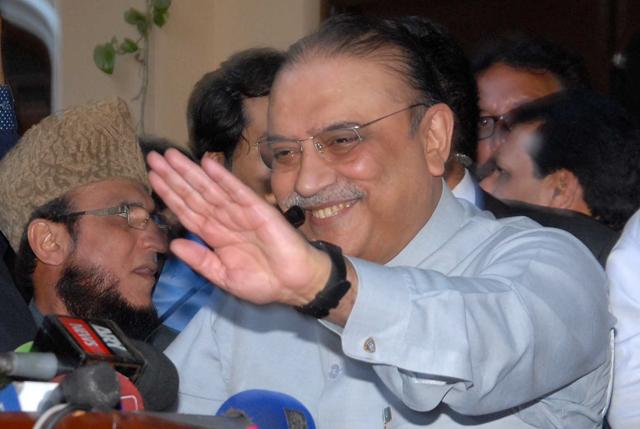 Asif Ali Zardari. PHOTO: EXPRESS/RIAZ AHMED