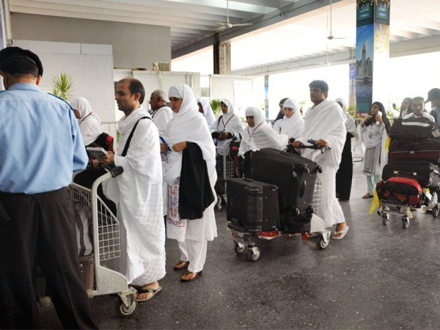All Hajj operations and services will be provided by the national carrier alone PHOTO: EXPRESS