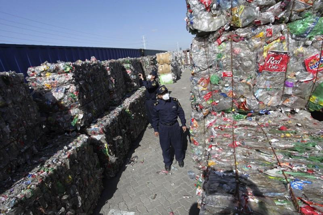 china s solid waste imports plunge