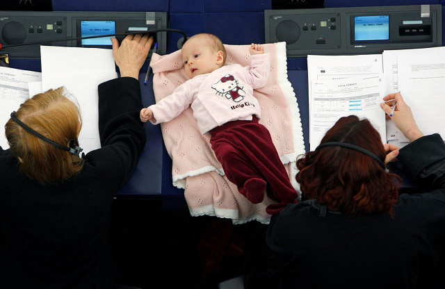highchairs and cuddles how parliaments are catering for lawmaker moms