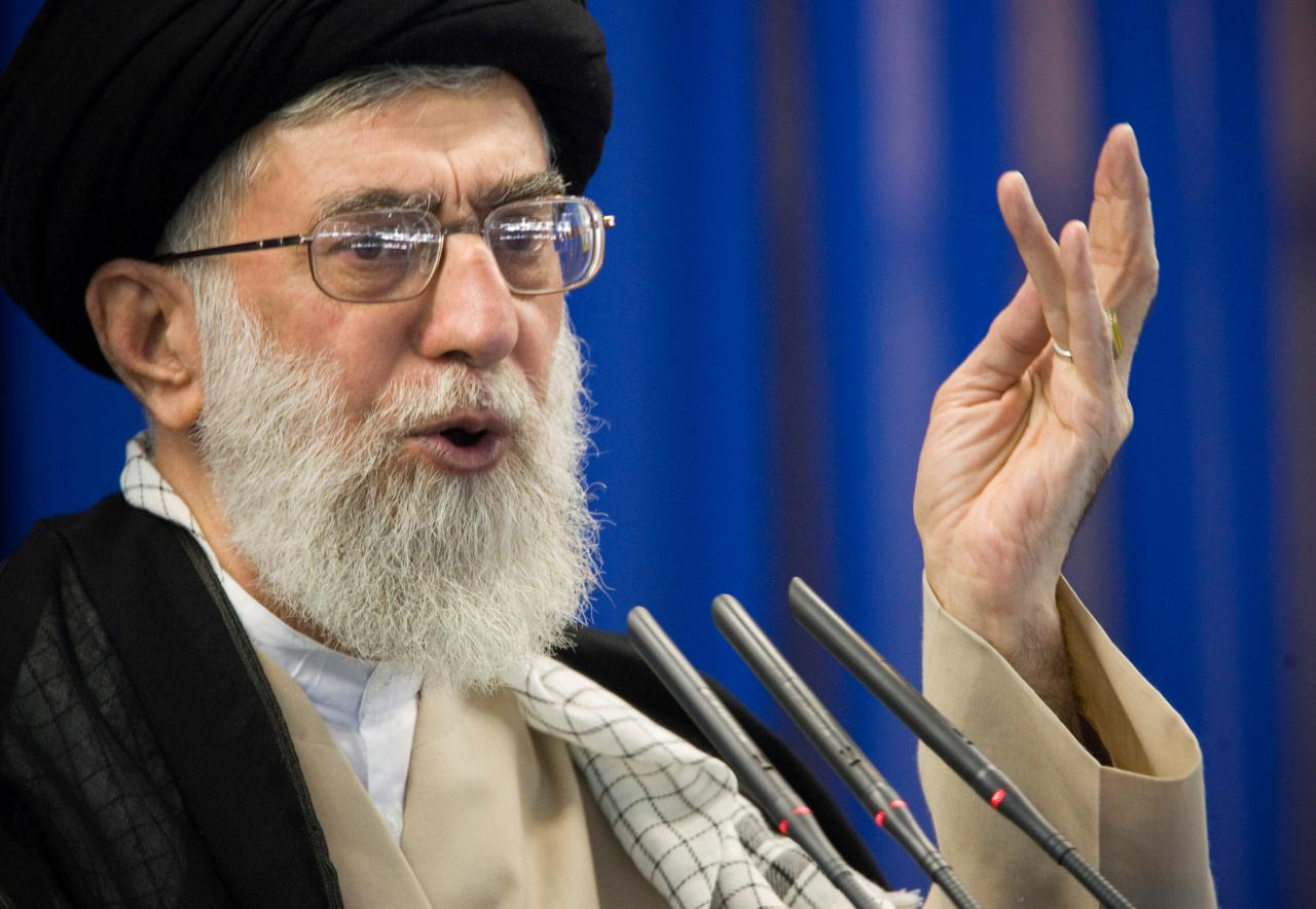 iran s khamenei seeks better ties with the world apart from us