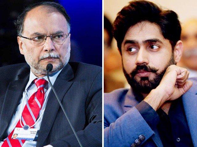 ahsan iqbal slams abrarul haq with defamation suit