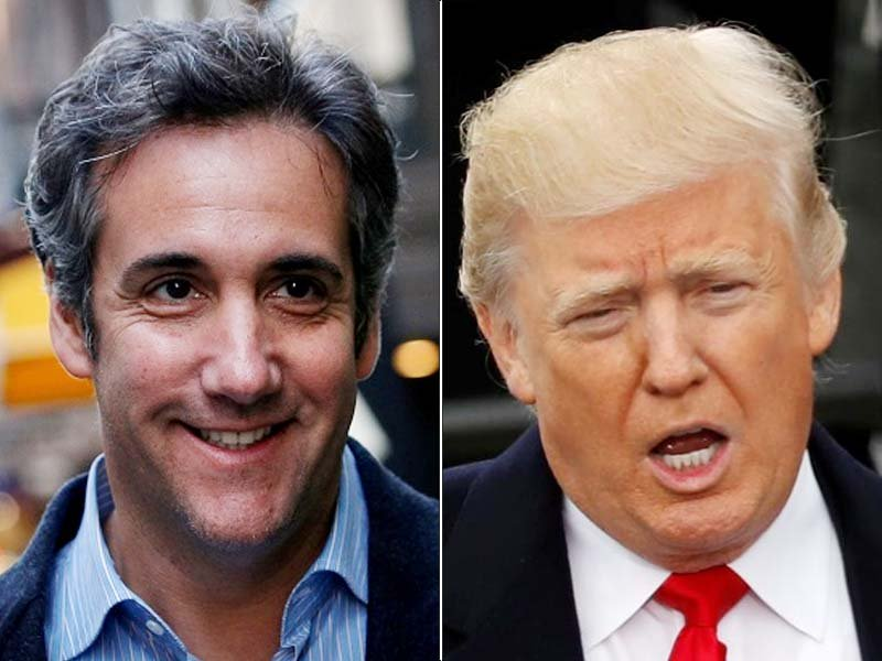 trump lashes ex lawyer says taping of client perhaps illegal