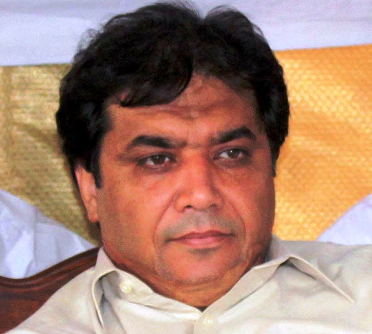 Hanif Abbasi stands disqualified from contesting upcoming polls following last night's verdict. PHOTO: EXPRESS/FILE