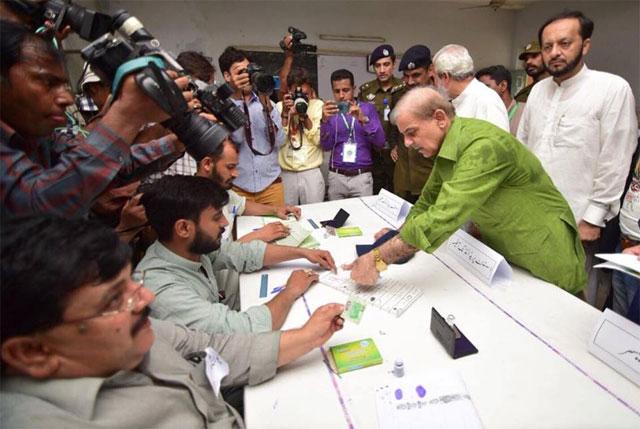 pml n goes into toughest electoral battle
