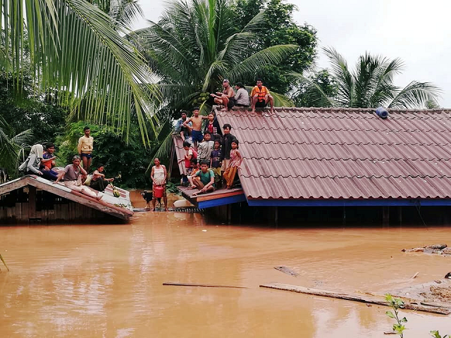bodies of 17 recovered after laos dam disaster thai consul official