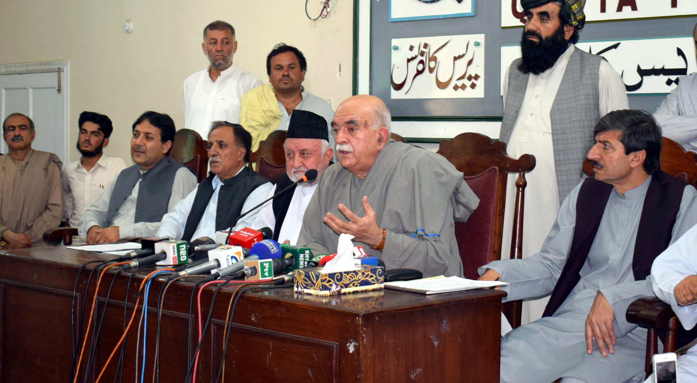 achakzai rejects election results alleges ballot rigging