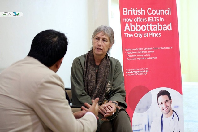 the british council digital library will strengthen the cultural ties between uk and pakistan photo afp