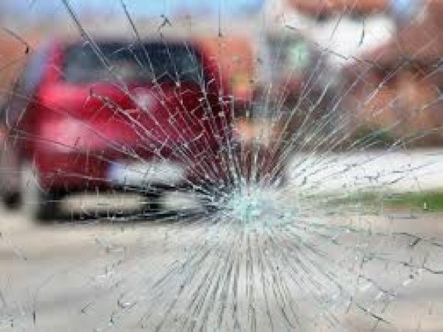 nine children injured in peshawar school van collision
