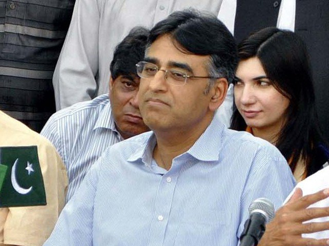 PTI leader Asad Umar. PHOTO: EXPRESS