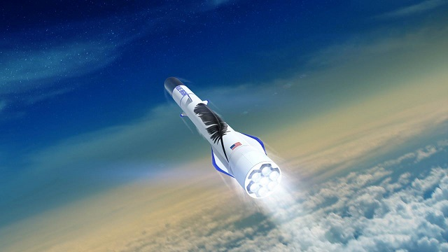 bezos throws cash engineers at rocket program as space race accelerates