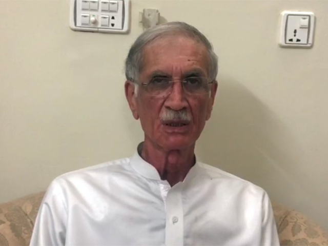 khattak apologises to nation for using foul language during electioneering