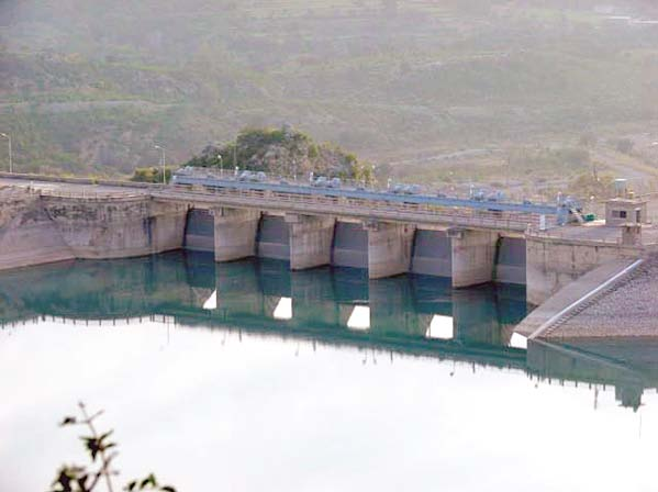 khanpur dam water supply scheme almost ready