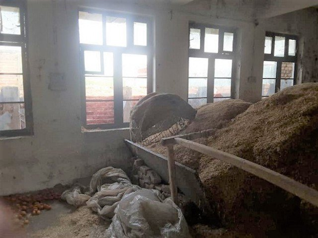 Back on August 3, at least 12 schools were set on fire by unidentified attackers late Thursday night in Gilgit-Baltistan's Diamer district. PHOTO: EXPRESS/FILE
