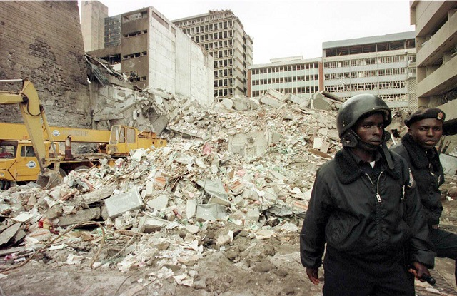 20 years ago us embassies in east africa attacked