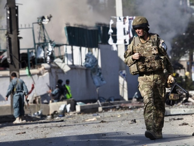 suicide attack kills three nato soldiers in afghanistan