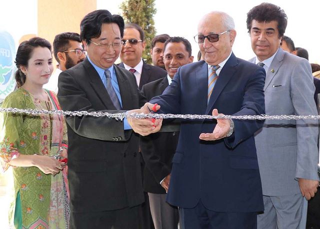 governor inaugurates cpec s centre of excellence