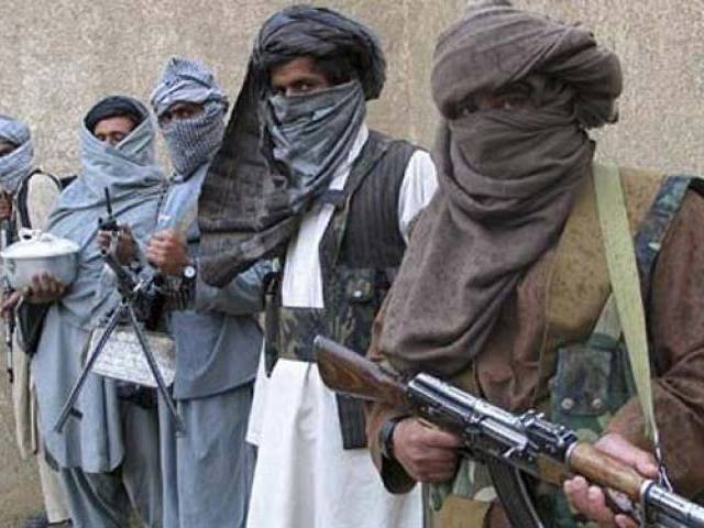 A clash between security forces and the militants took place at Unit 58 BR  Jani Khel, Bannu. PHOTO:REUTERS