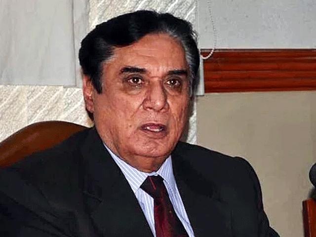 National Accountability Bureau Chairman Justice (retd) Javed Iqbal. PHOTO: FILE