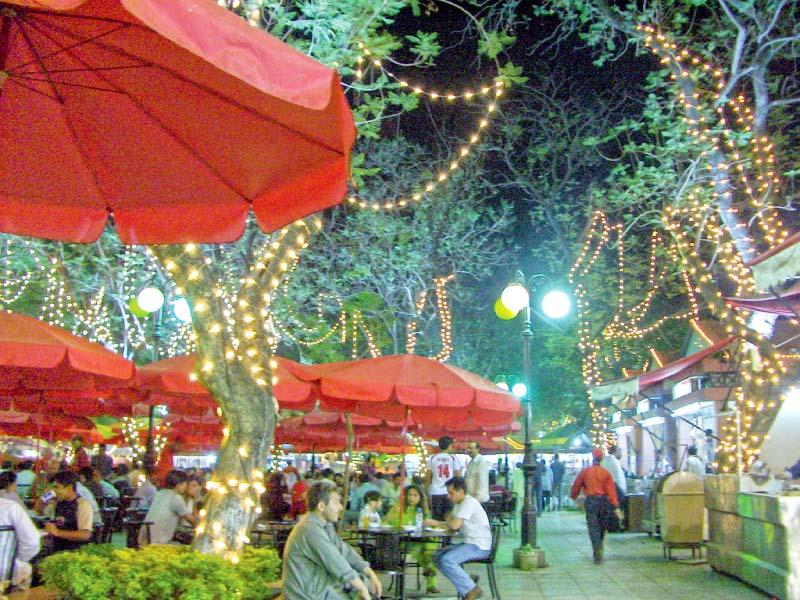 icci urges cda to complete sitara market food street