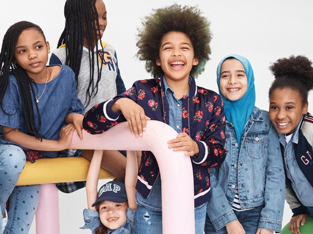 twitterati celebrate as gap ad campaign features little girl in hijab