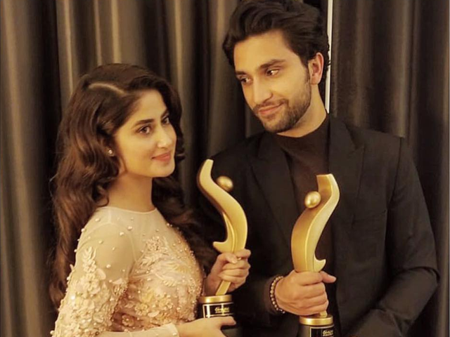 ahad raza mir responds to relationship rumours with sajal aly