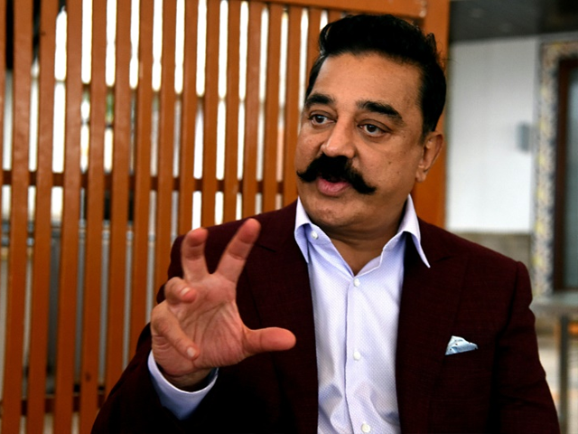 indian star kamal hassan join politics vows to fight for artistic freedom