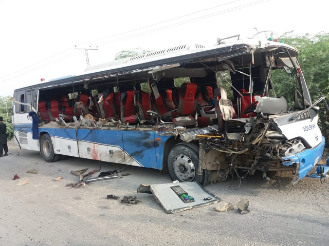 six fc personnel martyred in di khan road accident