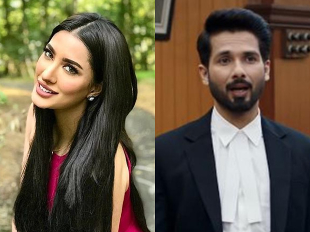mehwish hayat feels shahid kapoor s upcoming film takes inspiration from actor in law