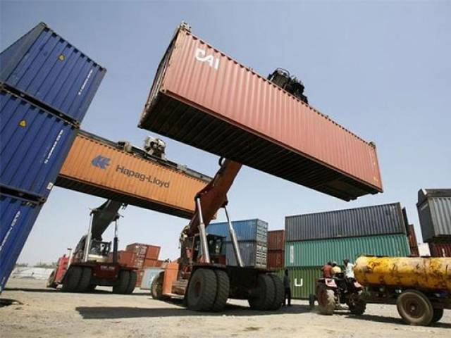 while exports did rise the increase was not enough to narrow down the trade deficit photo file