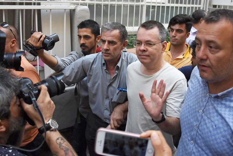 trump aide bolton met turkish envoy to discuss us pastor white house