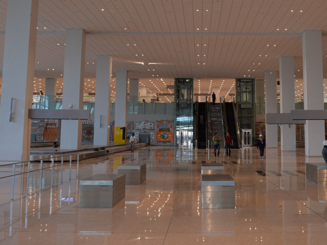 Islamabad International Airport. PHOTO: EXPRESS