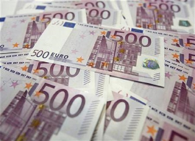 euro edges up as lira recovers