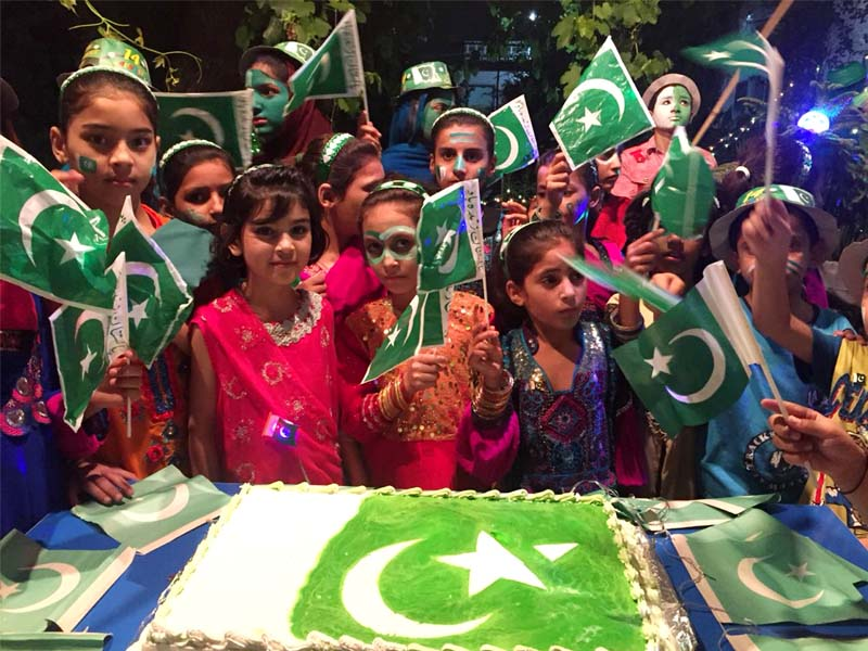 with traditional zeal independence day joyously celebrated in k p