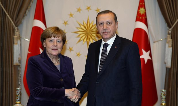after spat with us turkey s erdogan and germany s merkel discussed to improve ties