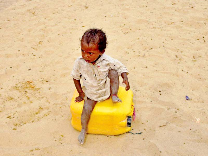 The highest number of undernourishment related deaths in infants and children are reported from Tharparkar. PHOTO: FILE
