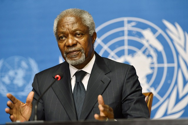 former un chief and nobel peace prize laureate kofi annan has died foundation