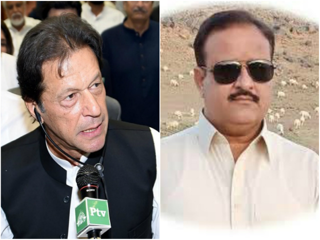 PM Khan backs his nominee after media reports say Buzdar, his father named in sextuple murder case. FILE PHOTOS