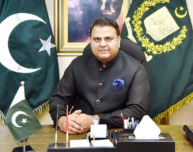 Information Minister Fawad Chaudhry says drastic changes will be made in state broadcasters in next three months. PHOTO: APP