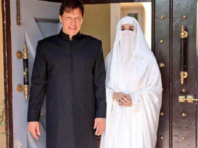 Prime Minister Imran Khan with the first lady, Bushra Maneka. PHOTO: ONLINE/ FILE