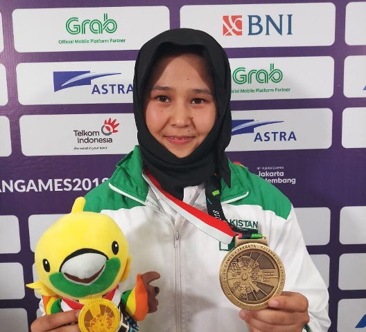 quetta woman clinches first karate medal for pakistan in asian games