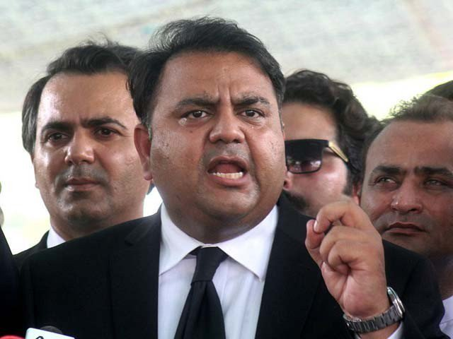 Fawad Chaudhry. PHOTO: FILE