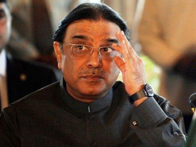 Former president of Pakistan Asif Ali Zardari. PHOTO: EXPRESS/FILE