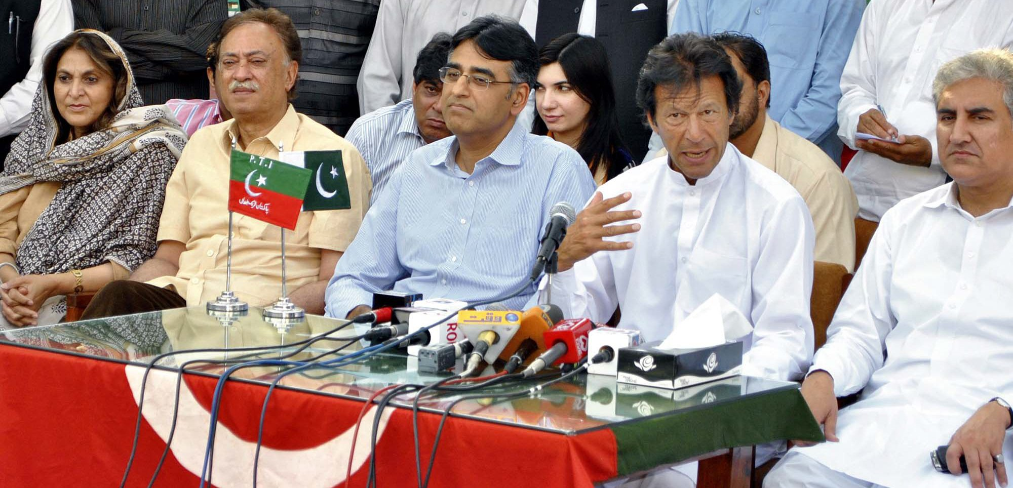 PTI leader Asad Umar. PHOTO: EXPRESS