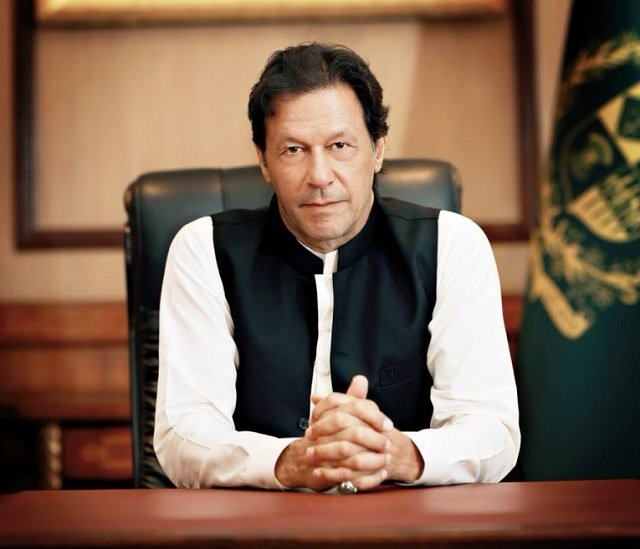 PM Imran Khan says his government will not give in to any one-sided demands by Trump administration. PHOTO: PID