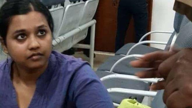 woman held for terming india s bjp fascist