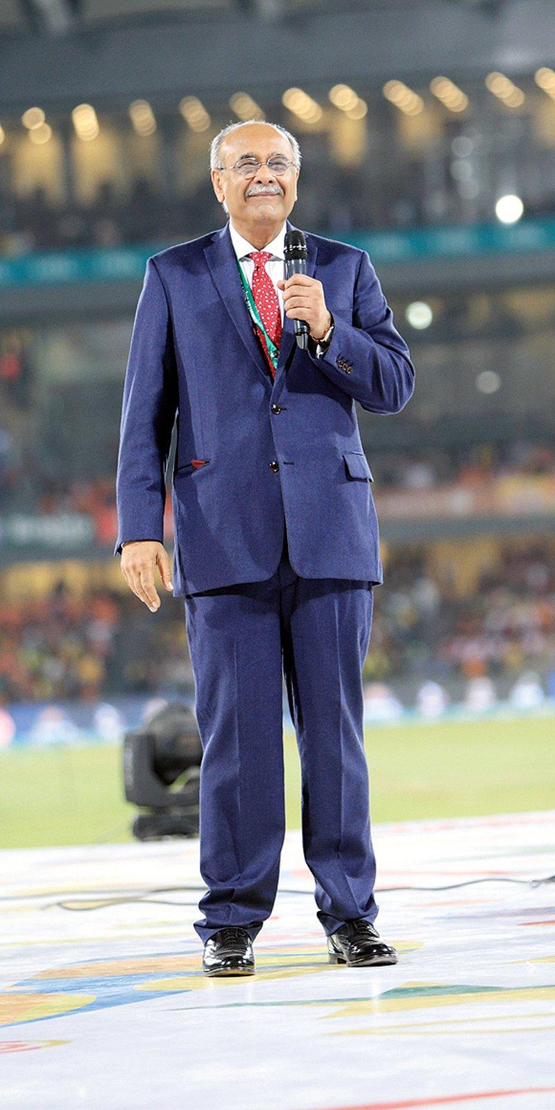 Pakistan Cricket Board ex-chairman Najam Sethi. PHOTO COURTESY: PSL