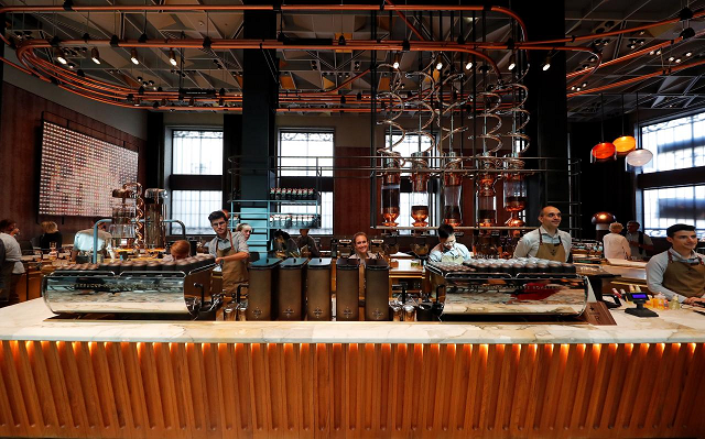 starbucks finally opens cafe in italy home of espresso