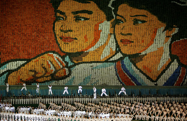 inside the spectacle and symbolism of north korea s mass games