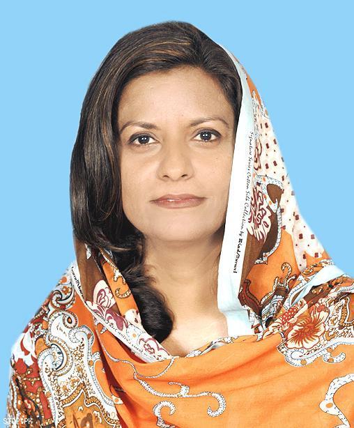 Dr Nafisa Shah, Khairpur Mirs. PHOTO: FILE